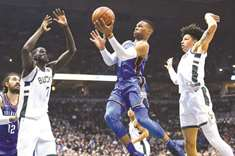 Westbrook claims bragging rights in marquee matchup