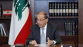 Lebanon's Aoun says PM Hariri's freedom restricted in Riyadh