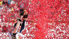 Marquez is MotoGP's youngest four-time champ