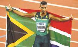 Injury to sideline Van Niekerk for nine months