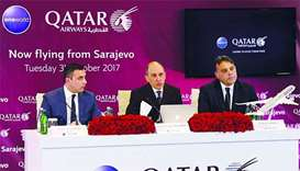 Qatar Airways opens fourth gateway to Eastern Europe