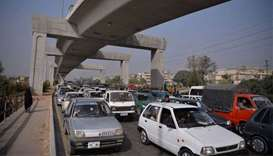 Traffic chaos as protesters besiege Pakistan's capital