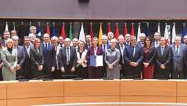 EU nations sign defence pact