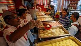 'Sweet news' for Indian state over 'rosogolla' rights