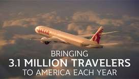 Qatar Airways' $91.8bn investment in US highlighted in campaign
