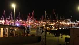The seventh Katara Traditional Dhow Festival