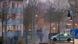 Fire in German refugee shelter kills one, hurts seven