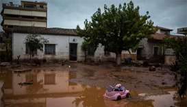 Heavy rain causes flooding in Greece, 13 killed