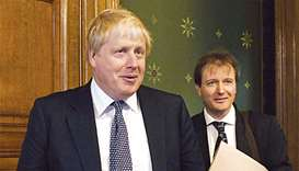 Foreign Secretary Boris Johnson meets Richard Ratcliffe at the Foreign & Commonwealth Office in Lond