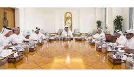 Emir chairs economic affairs, investment council meeting