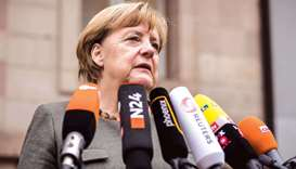 Merkel: I believe it (a Jamaica coalition) can work.