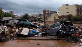 Six people missing after Greek floods kill 16 near Athens