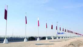 Darb Al Saai gets ready for National Day festivities