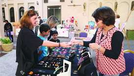 Arts and crafts on offer as QatArt joins farmers' market