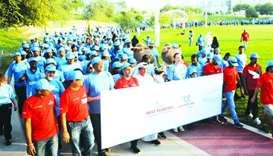 Beat Diabetes walkathon attracts over 5,000 participants
