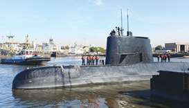 Argentina offers $5 million reward for missing sub