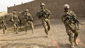 Afghan US forces