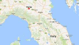Three earthquakes hit northern Italy near Parma, no damages reported