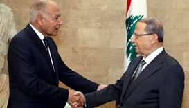 Arab League chief says Lebanon should be 'spared'
