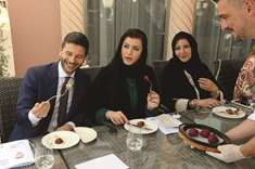 Qatari businesswomen attend masterclass on Italian food