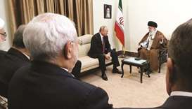 Putin in Iran for talks on Syria, N-deal