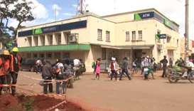 Kenya robbers tunnel into bank