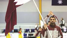 Historical win for Curling Team Qatar