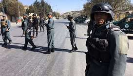Suicide attack kills at least eight in Afghanistan's east: officials