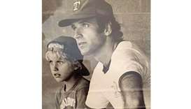 POIGNANT: Joe Biden with son Beau in a picture from the 70s.