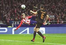 Griezmann gives Atletico power of positive thinking