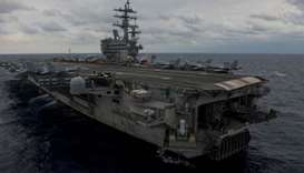 Massive search for US sailors after Philippine Sea air crash