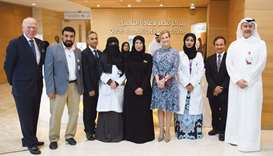 Countess of Wessex tours 'Qatar Vision' initiatives