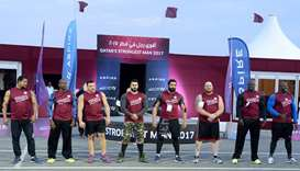 Qatar's Strongest Man' 2017 competition