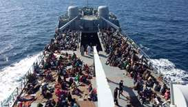 Thirty-one bodies recovered after migrant boat sinks off Libya