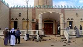 Gunmen in Egypt mosque attack carried Islamic State flag, prosecutor says