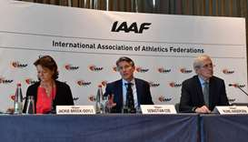 IAAF maintains Russia suspension