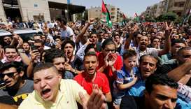 Jordan to allow Israel embassy reopening only after action against guard