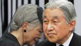 Japan emperor to cede all public duties after abdication: prince