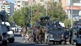 Turkish police officer killed, 9 wounded in PKK clash
