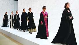 Fashion shows featuring latest in Arabian dresses mark Heya opening
