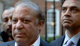 Sharif appears in court after returning to Pakistan
