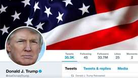 Outgoing Twitter worker takes down Trump account