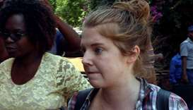 U.S. citU.S. citizen Martha O'Donovan arrives at court in Harare, Zimbabwe