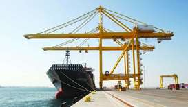Cargo handling through Qatar's 3 ports more than triples in April