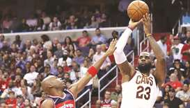 James pours in 57 as Cavaliers topple Wizards