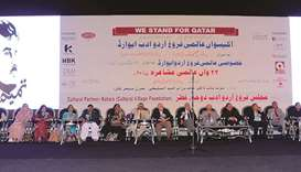 Urdu poetry enchants expats