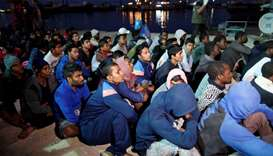 At least 5 dead after migrant boat sinks off Libya