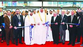 HE the Minister of Economy and Commerce Sheikh Ahmed bin Jassim bin Mohamed al-Thani yesterday inaug