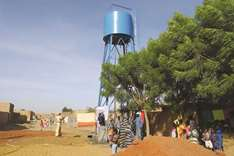 A well changes lives in ravaged Mali city