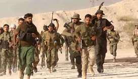 Syrian army starts assault on last IS stronghold